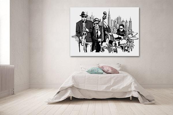 Jazz Band Artwork