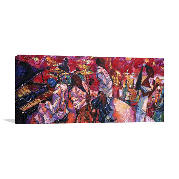 Jazz Club Artwork