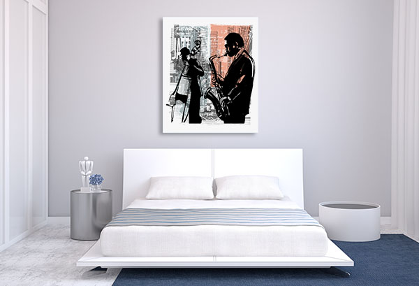 Jazz In New York Canvas Art