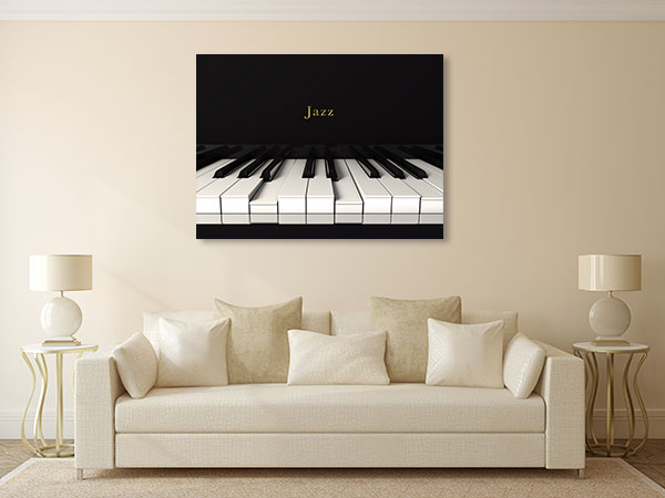 Jazz Piano Prints Canvas