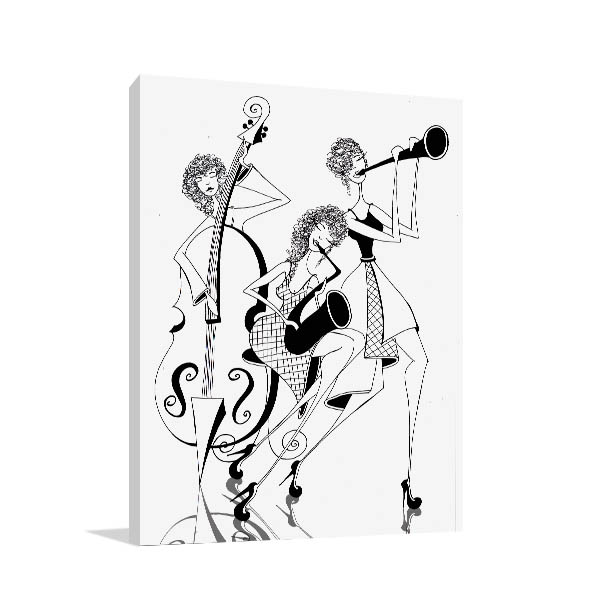Jazz Trio Print Artwork