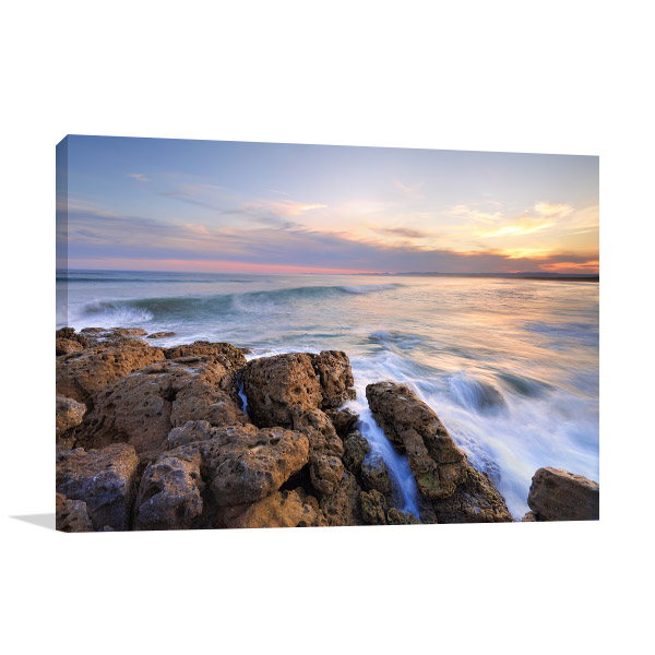 Jervis Bay Territory Wall Print Bherwere Beach Photo Canvas