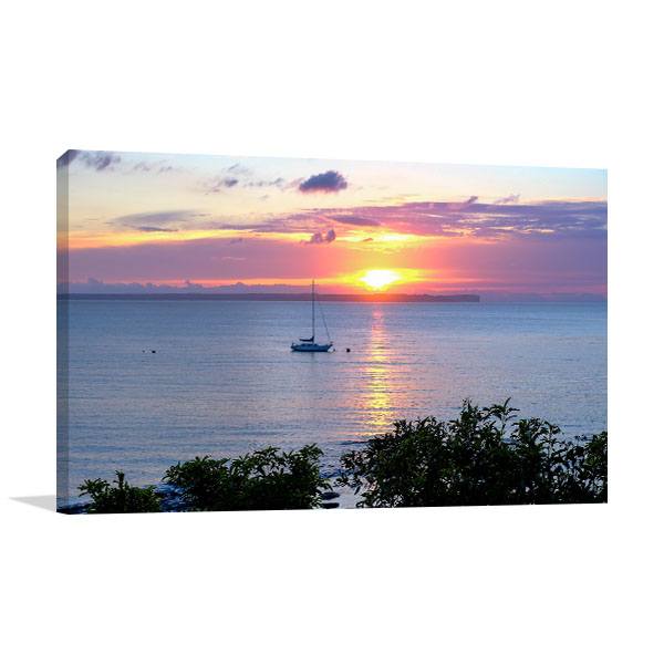Jervis Bay Wall Print Huskisson Boat Picture Art