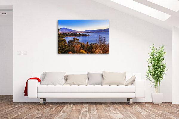 Jindabyne Art Print Snowy Mountain Photo Wall