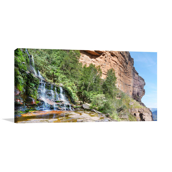 Katoomba Falls Wall Print Blue Mountains Picture Art