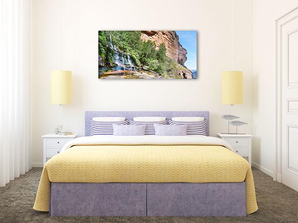 Katoomba Falls Wall Print Blue Mountains Photo Art