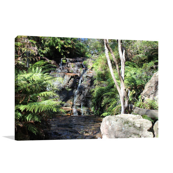 Katoomba Wall Print Wentworth Falls Artwork Picture