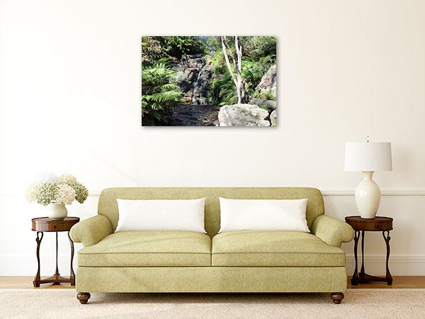 Katoomba Wall Print Wentworth Falls Art Picture