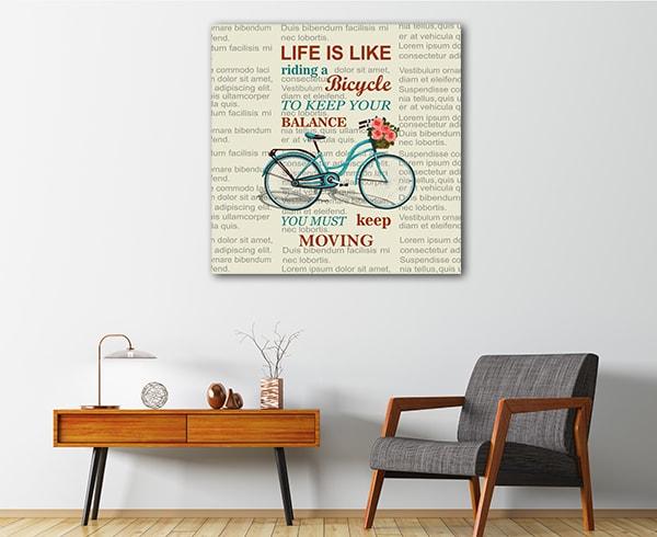 Keep Moving Canvas Prints