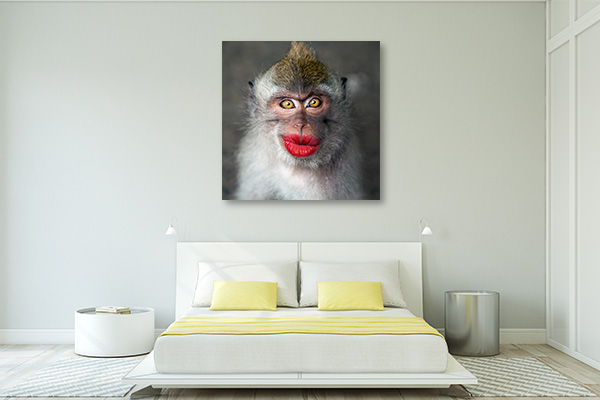 Kissable Lips Canvas Prints