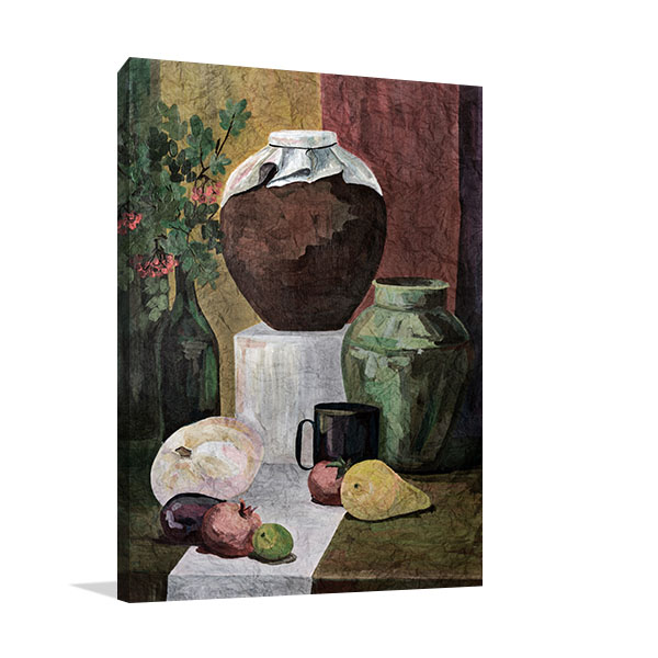 Kitchen Table Still Life Wall Art