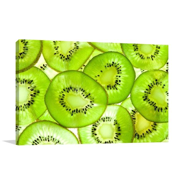 Kiwi Fruit Artwork