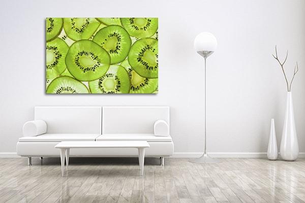 Kiwi Fruit Canvas Prints
