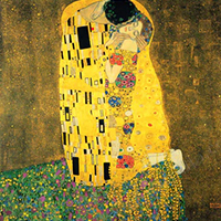 Klimt The Kiss Replica Painting