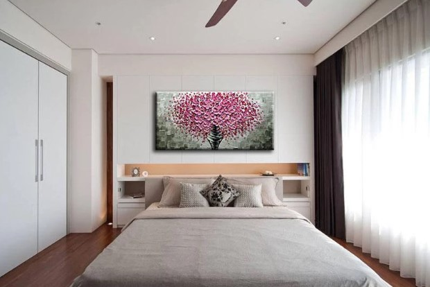 Floral Hand Knife Painting Online
