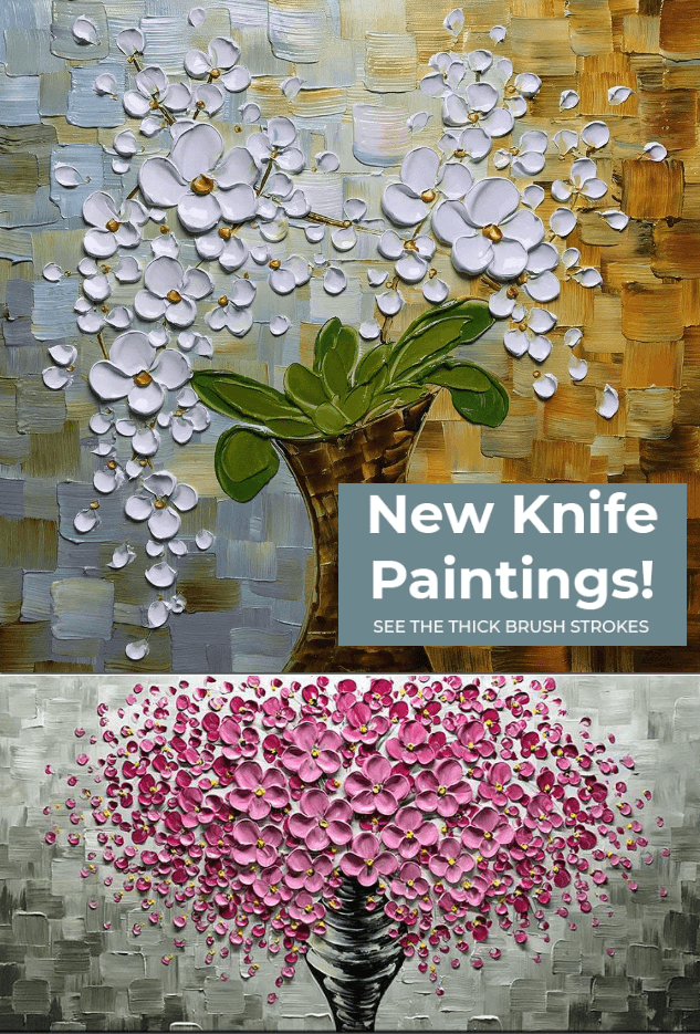 Knife Paintings