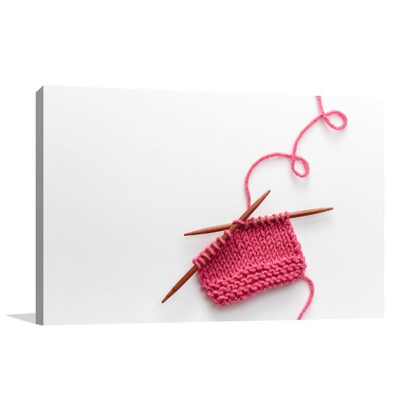 Knitting Project Artwork