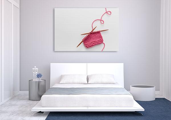 Knitting Project Wall Art