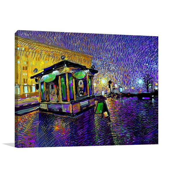 Kyiv City Canvas Art Prints