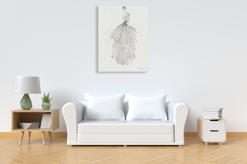 Fashion Dress Canvas Art