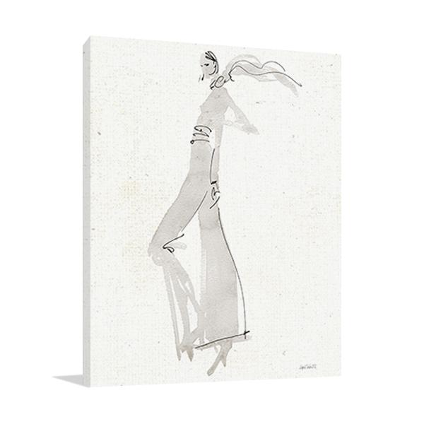 La Fashion III Wall Art Print