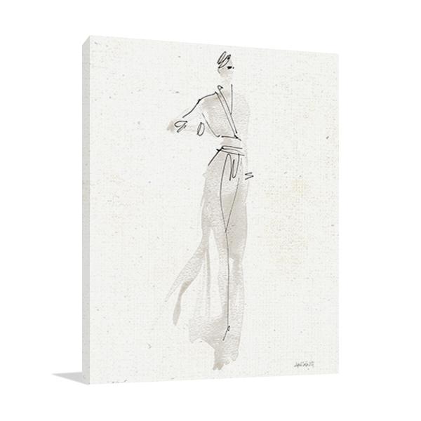 La Fashion IV Wall Art Print