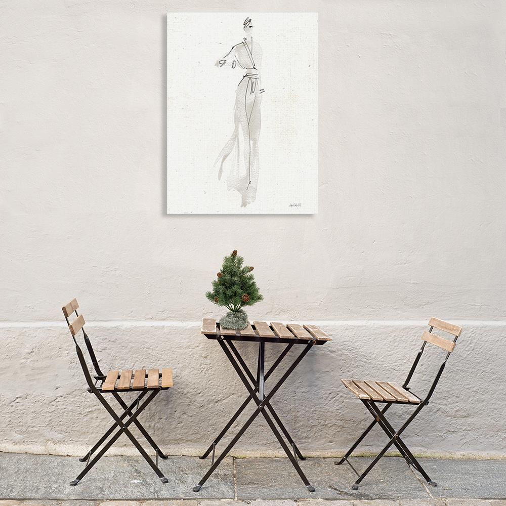 Fashion Illustration Wall Print