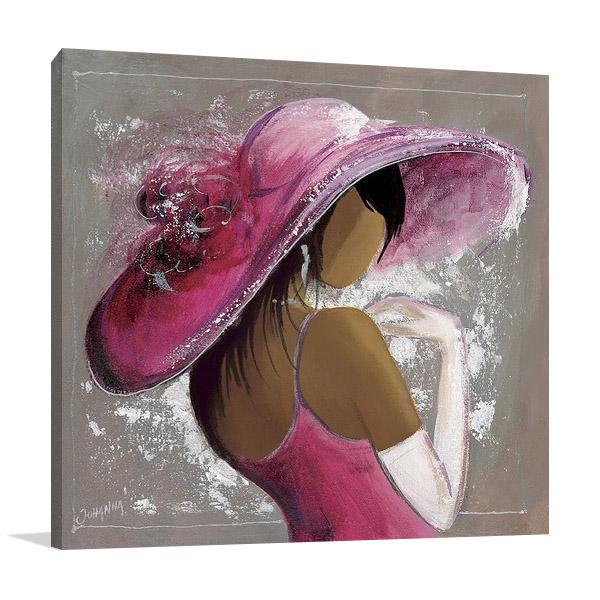 Lady Elegant Beauty I Canvas Print
