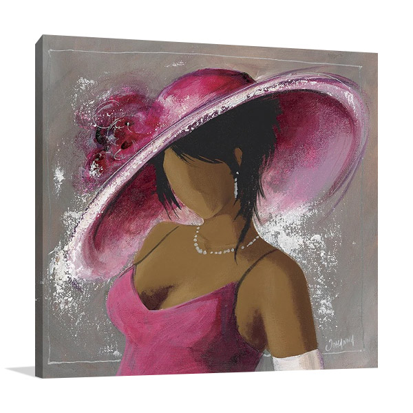 Lady Elegant Beauty II Print