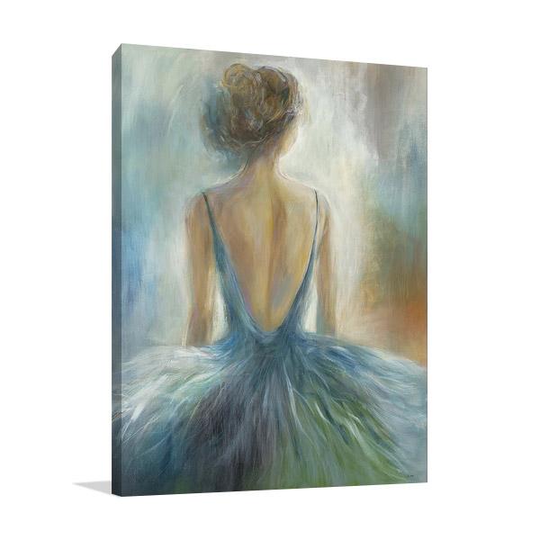 Lady in Blue Print | K. Nari