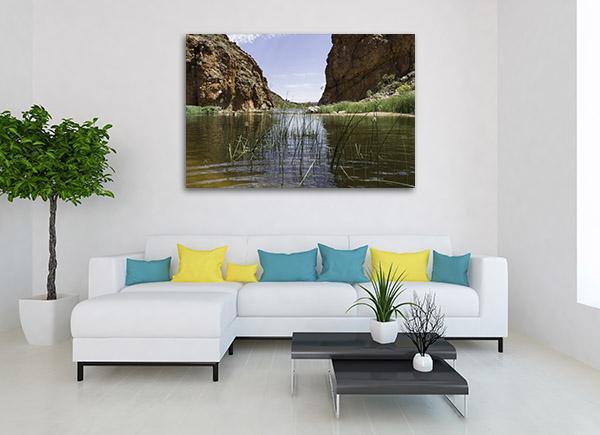 Lake At Alice Springs Wall Art
