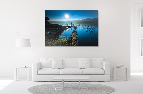 Lake in Bali Print Artwork