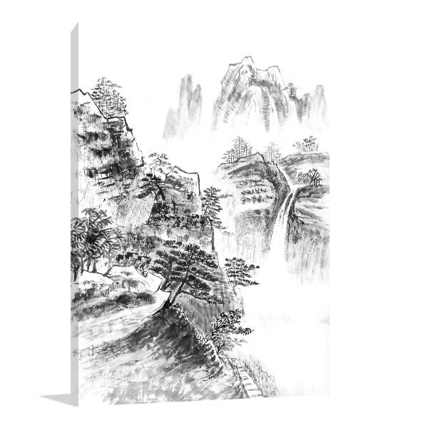 Landscape Paint Artwork