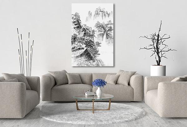 Landscape Paint Canvas Prints