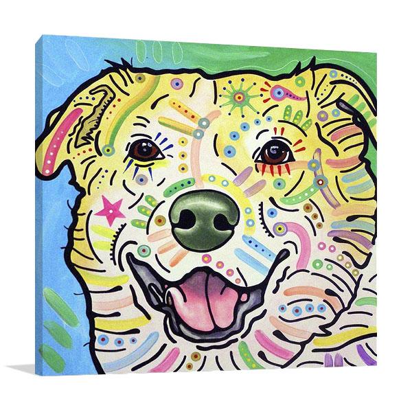 Laughing Labrador Animal Print