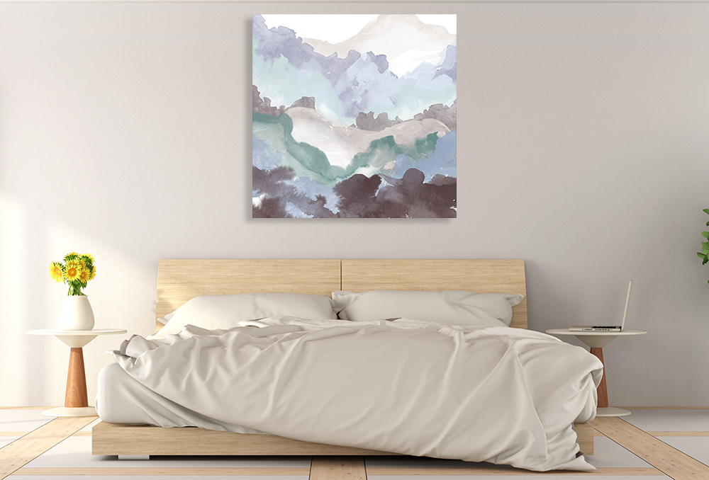 Square Abstract Canvas Print