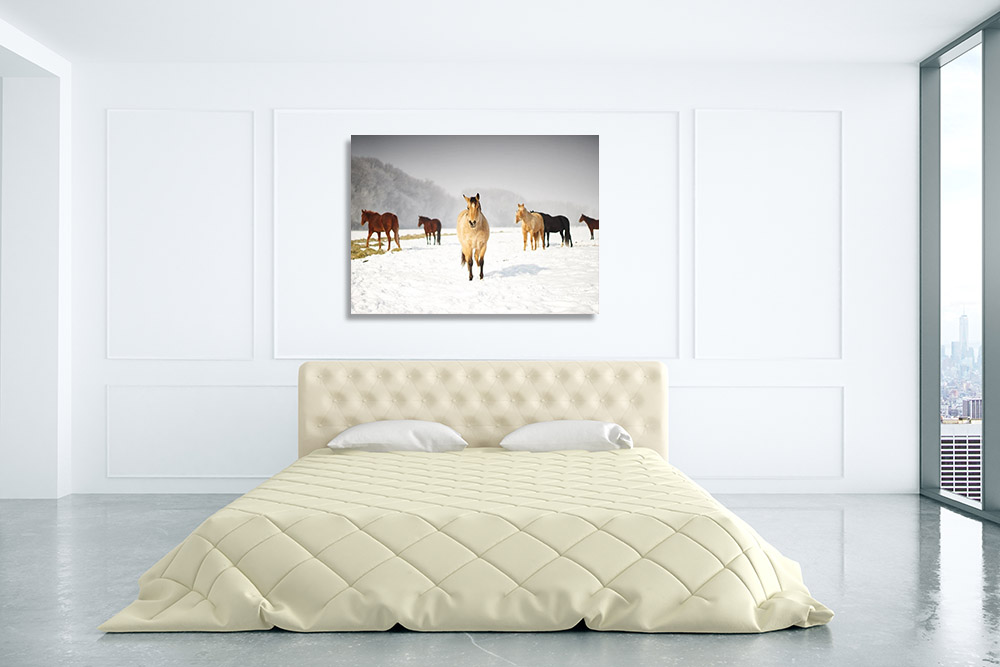 Bedroom Landscape Print Art