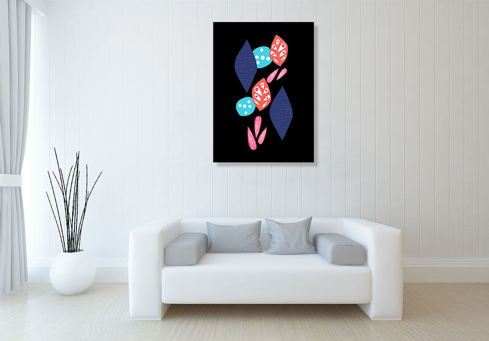 Nature Abstract Print on Canvas