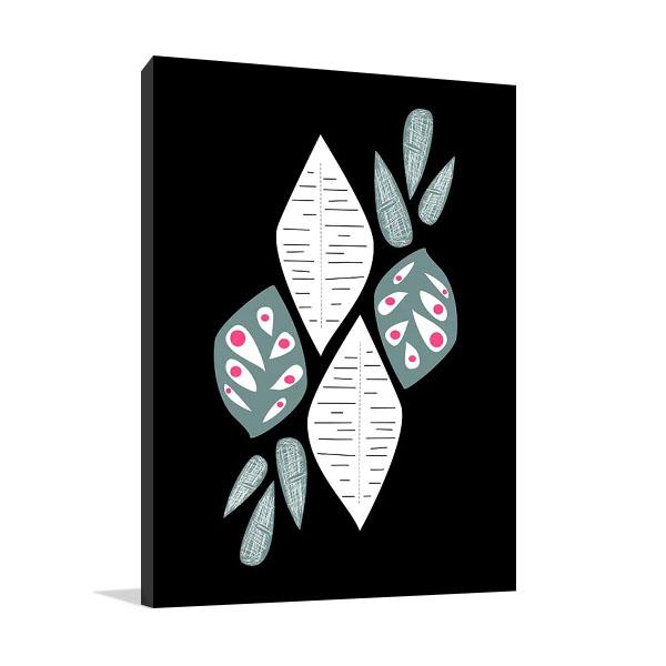 Leaf Pattern II Canvas Print | Biehle