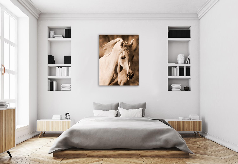Brown Animal Canvas Wall Print