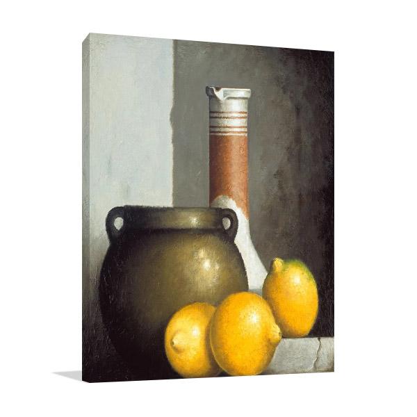 Lemon Still Life Print | Chavelle