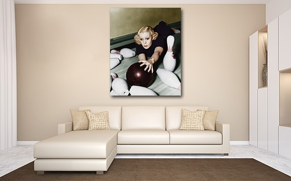 Let's Play Bowling Canvas Art Prints