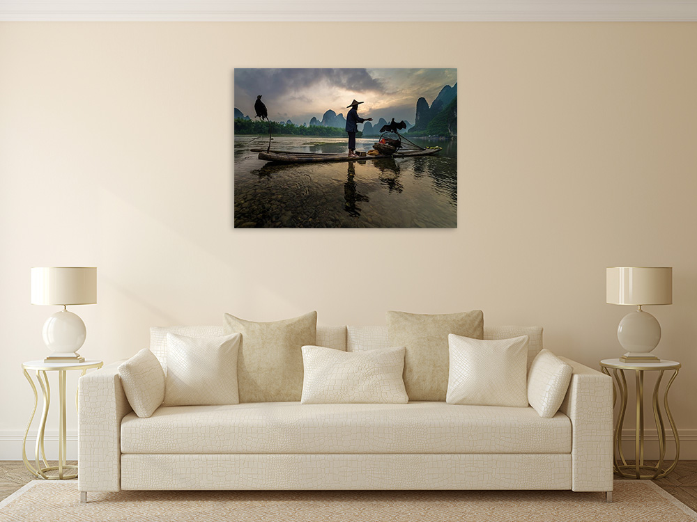 Rural Photography Print on Canvas