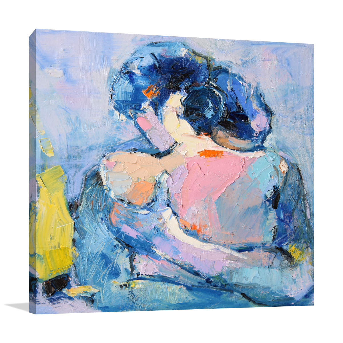 Paintings on Canvas   Li Zhou   Hug