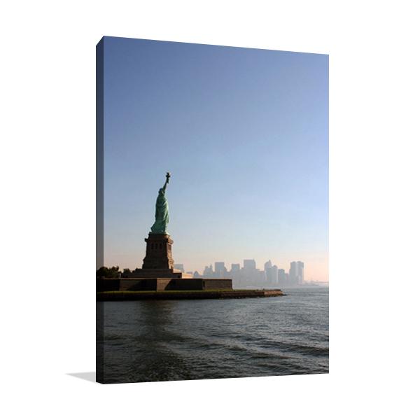 Liberty Leading the City Wall Art Print