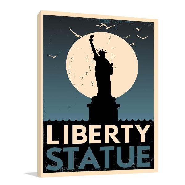 Liberty Statue Poster Art Prints