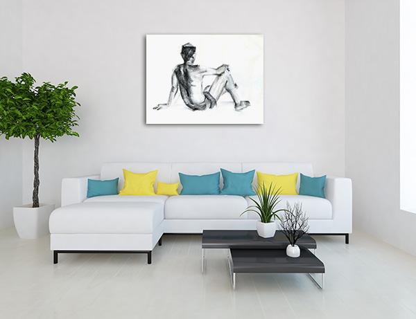 Life Figure Canvas Art Prints