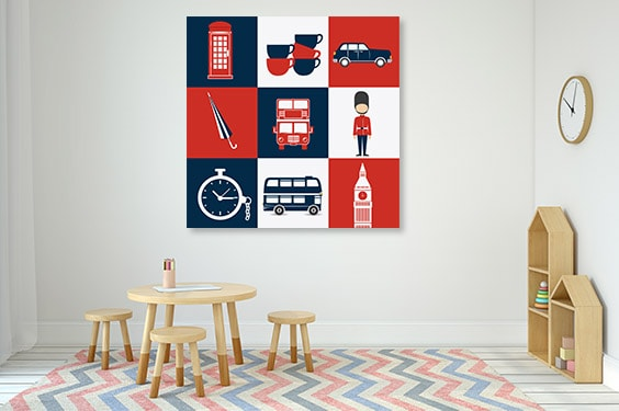 Lifestyle London Prints Canvas