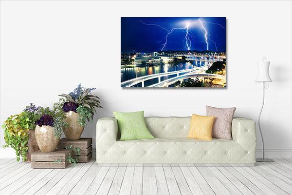 Lightning Strikes Artwork