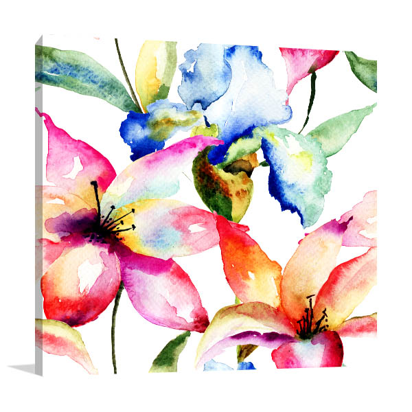 Lily and Iris Art Prints